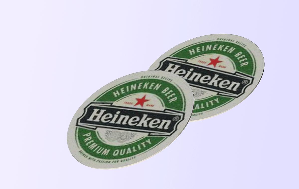Бирдекель, диаметр 100 мм, печать офсетная, одностороннее каширование на пивной картон 500 гр.м2